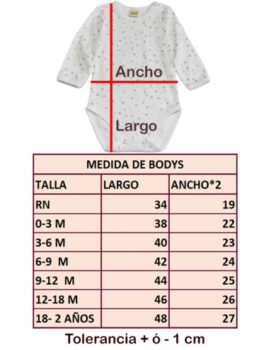 Body MELANGE Claro ML
